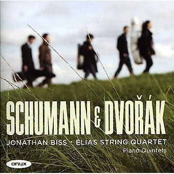 Schumann/Dvorak - Schumann & Dvor K: klaver kvintetter [CD] USA import