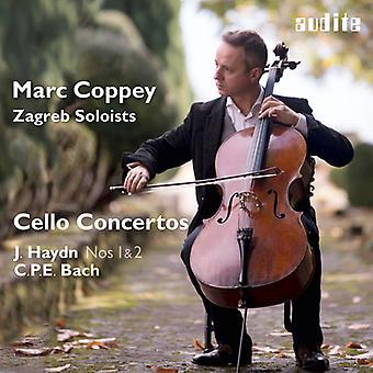 Haydn / solistas de Zagreb / import de USA de Coppey - Marc Coppey y los solistas de Zagreb - Cello Concerto [CD]