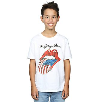 Rolling Stones drenge amerikanske tungen T-Shirt