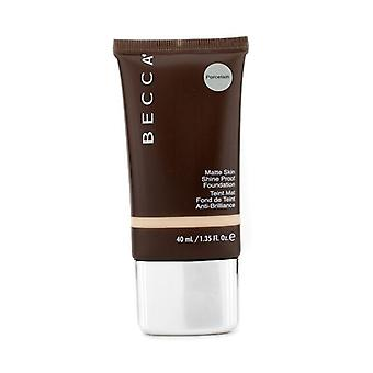 Becca Matte huden skinne bevis Foundation - # porselen - 40ml / 1.35 oz