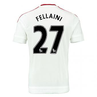2015-2016 Man Utd Away Shirt (Fellaini 27)