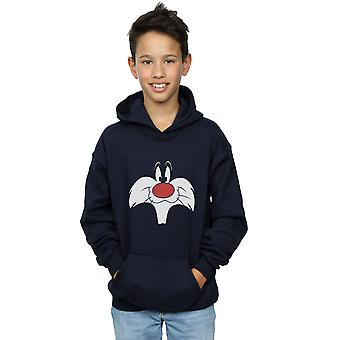 Looney Tunes Boys Sylvester Big Face Hoodie