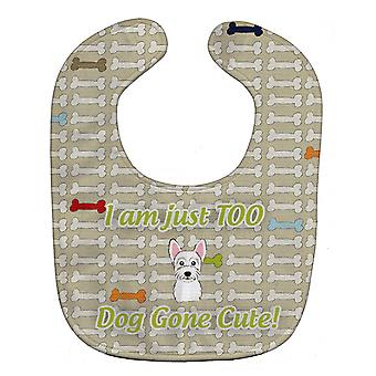 Carolines Treasures  BB5795BIB Too Cute Westie Baby Bib