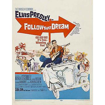 Follow That Dream Movie Poster (11 x 17)
