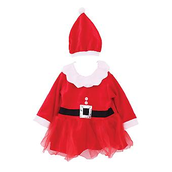 Christmas Shop Childrens Girls Santa Dress