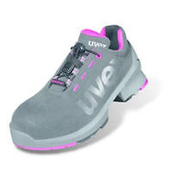 Uvex 8562.8 1 Size 8 Ladies Safety Trainers S2 Grey/Pink