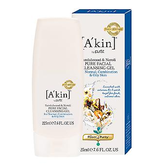 A'kin sandeltræ & Neroli Pure Facial Cleansing Gel 225ml