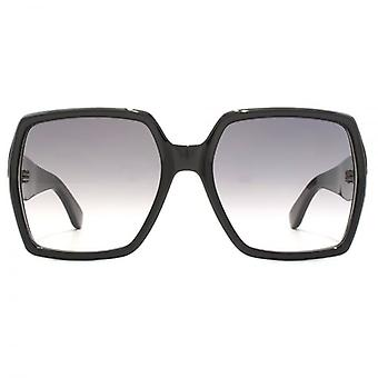 Saint Laurent SL M2 Retro Square Sunglasses In Black