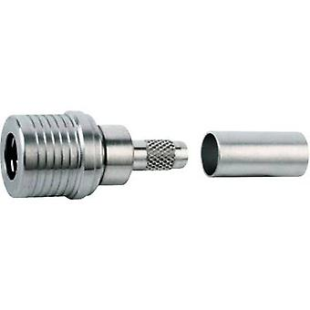 QLS connector Plug, straight 50 Ω Telegärtner J01420A0015
