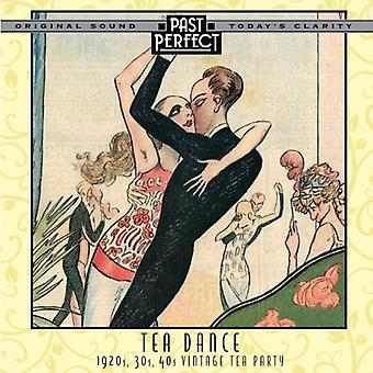 Te dans: 20s, 30s, 40s Vintage teselskab Audio CD-forskellige kunstnere