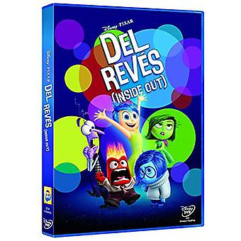 Disney Del Reves (Inside Out) Disney Dvd