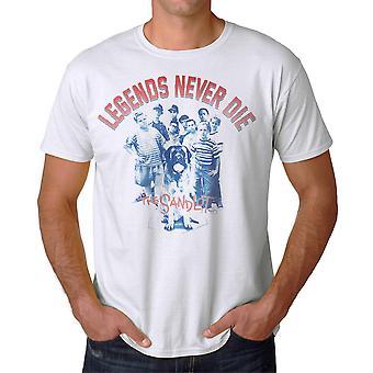 Sand legender mænds hvid T-shirt