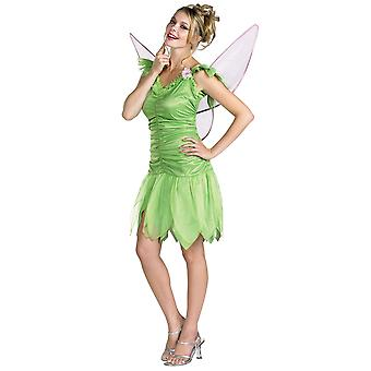 Tinker Bell Tinkebell Fairy Disney Fairies Story Book Week Women Costume L 12-14