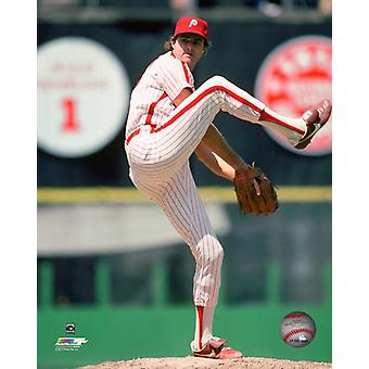Steve Carlton 1982 Action Photo Print