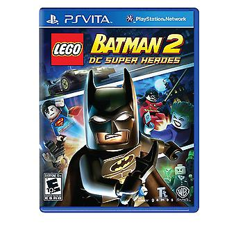 LEGO Batman 2 DC Super Heroes PlayStation Vita Game