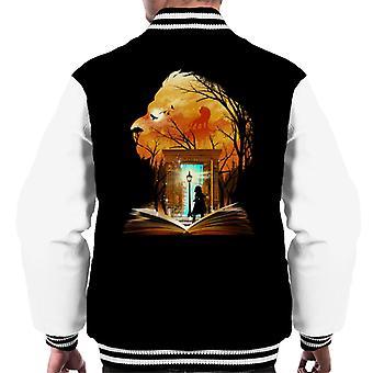 Chronicles Of Narnia Aslan garderobe Collage menn Varsity jakke
