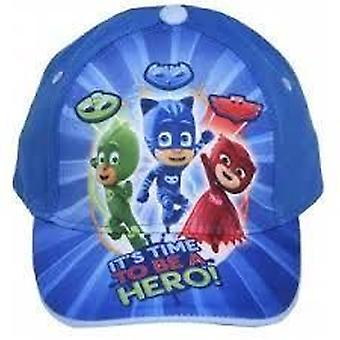 PJ MASK | Its Time To Be A Hero | CAP | Blue | 50cm