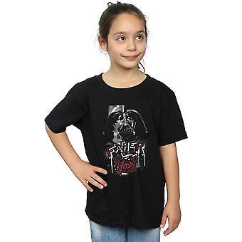 Star Wars Mädchen Vater des Jahres T-Shirts