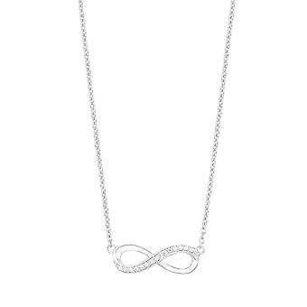 s.Oliver jewel ladies chain necklace silver Zyrkonia infinity 2012527