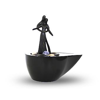Room table fountain FoTwosome with LED 10780
