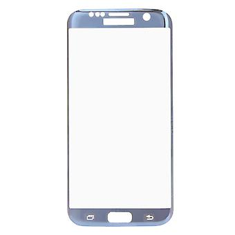 Premium of 0.3 mm bent tempered glass blue film for Samsung Galaxy S7 edge G935 F