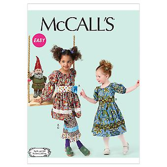 Children's/Girls' Dresses, Belts and Pants-CDD (2-3-4-5) -*SEWING PATTERN*
