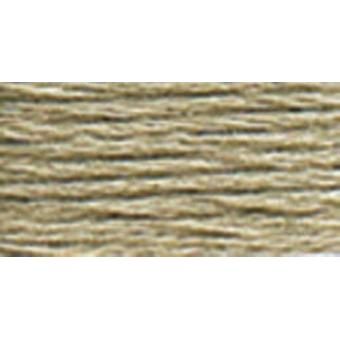 DMC 6-Strand Embroidery Cotton 8.7yd-Light Brown Grey
