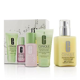 Clinique 3-Step Skin Care System (Hauttyp 3) - 3pcs