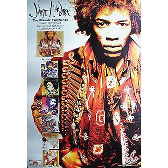 Jimi Hendrix The Ultimate Experience Poster