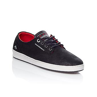 Emerica Independent Black-Grey-Black Romero Laced Shoe