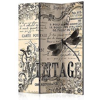 Room Divider - Vintage Correspondence [Room Dividers]