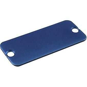 End cover Aluminium Blue Hammond Electronics 1455DALBU-10 1 pc(s)
