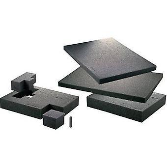 Foam insert TOOLCRAFT (L x W x H) 300 x 300 x 1
