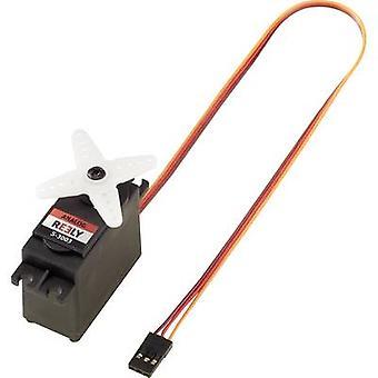 Reely Standard Power S-3003 analogico servo materiale della scatola ingranaggi: sistema di connettore di plastica: JR