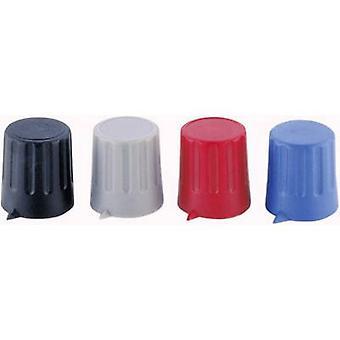 Strapubox 15/6 Control knob + hand Red (Ø x H) 15 mm x 16 mm 1 pc(s)