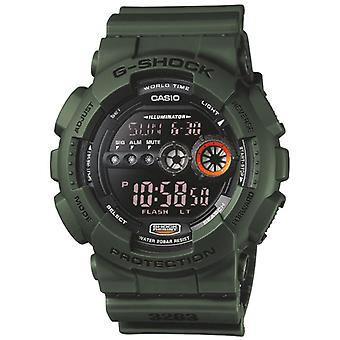 Casio GD100MS-3ER Men's G-Shock Resin Watches - Green