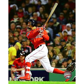 Mookie Betts Game 1 of the 2018 American League Division Series Photo Print