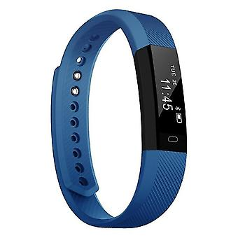 Fitnessarmband for Android and iOS-Blue