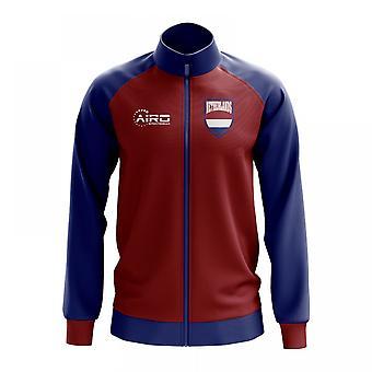 Nederländerna-konceptet fotboll Track Jacket (röd)