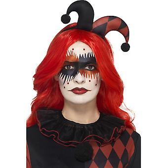 Harlequin makeup Kit, with face stickers