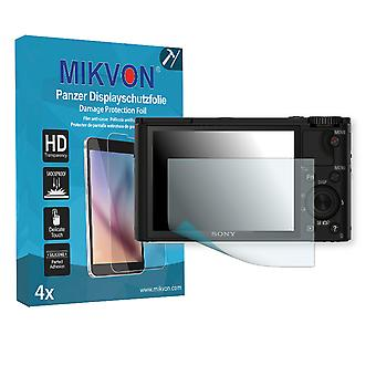 Sony DSC-RX100 Screen Protector - Mikvon Armor Screen Protector (Retail Package with accessories)