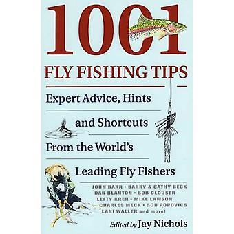 1001 flyga fiske Tips - Expert råd - tips och genvägar av Jay Nic