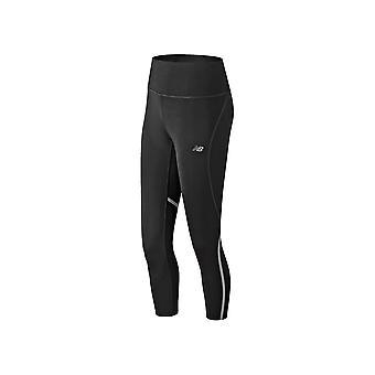 Novo equilíbrio moda executar colheita WP81863BK universal calças de mulheres todo ano