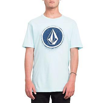 Volcom Men's T-Shirt ~ Spray Stone mint