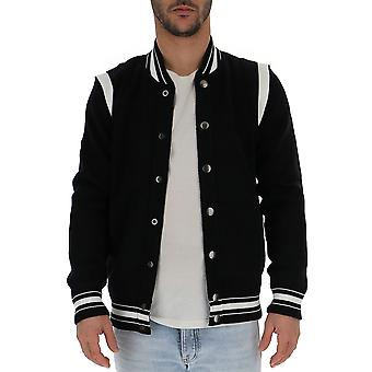 Givenchy Black Cotton Outerwear Jacket