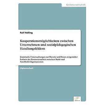 Kooperationsmglichkeiten zwischen Unternehmen und sozialpdagogischen Handlungsfeldern av Helling & Ralf