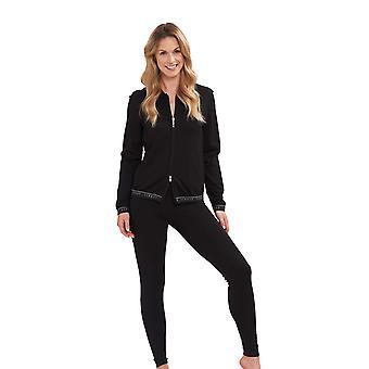 Feraud 3195276-10995 Women's Voyage Black Jacket