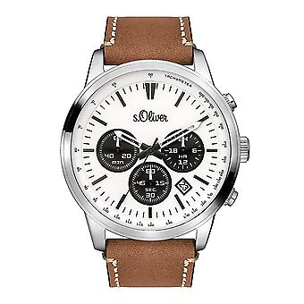 s. Oliver chronograph men's Watch SO-3335-LC