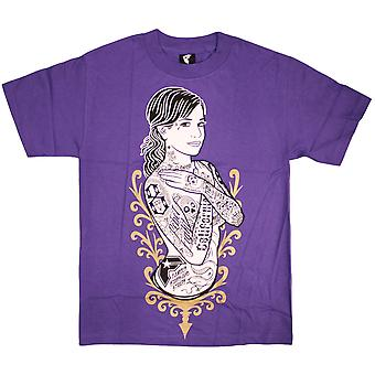 Famous Stars & Straps Stay Fly Men's T-shirt Purple
