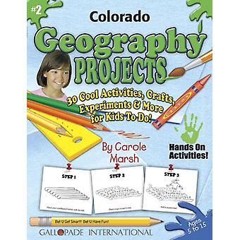 Colorado Geography Projects - 30 Cool Activities - Crafts - Experimen